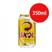 Cervejas: Skol Lata - Cerveja Skol 350ml