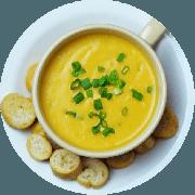 Sopa: (Nova) Consumê de Peixe. 500ml - Sopa (Ingredientes: Consumê de Peixe, batata inglesa e temperos.)