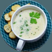 Sopa: (NOVA) Creme de Cebola. 500ml - Sopa (Ingredientes: Creme de cebola com temperos gosto leve)