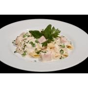 Molhos: Molho Parisiense - 500g (Ingredientes: Leite, Presunto, Bacon)