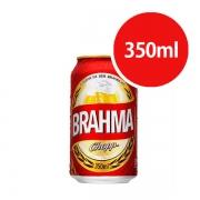 Cerveja: Brahma Zero Álcool Lata 350ml - Cerveja