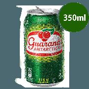 Refrigerante: Guarana Antactica 350ml - Kuat 350ml