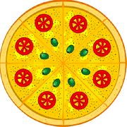 Doces: Romeu e Julieta - Pizza Broto (Ingredientes: Mussarela, Goiabada)
