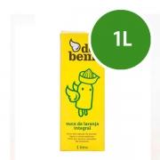 Suco: Suco de Laranja Integral 1L - Suco de Laranja Integral Do Bem, New Frut ou Del Valle.