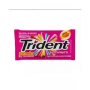 Chicletes: Trident Tutti-Frutti - Trident Tutti-Frutti