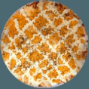 Tradicionais: Frango c/ Catupiry - Pizza Grande (Ingredientes: Molho, Mussarela, Frango Desfiado, Catupiry, Orégano)
