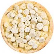 Pizzas Tradicionais: Palmito - Pizza Pequena (Ingredientes: Molho de Tomate, Mussarela, Orégano, Palmito)