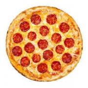 Pizzas Especiais: Pepperoni - Pizza Pequena (Ingredientes: Molho de Tomate, Mussarela, Pepperoni)