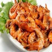 Porções: Camarão Alho e Óleo 300g - Petisco (Ingredientes: Camarão médio com casaca , grelhado e acebolado)