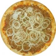 Pizzas Tradicionais: Atum - Pizza Gigante (Ingredientes: Atum, Azeitona, Cebola, Molho de Tomate, Mussarela, Orégano)