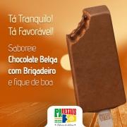 Paletas: Chocolate Belga com Brigadeiro - Paleta Mexicana