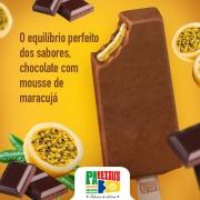 Paletas: Chocolate Belga com Mousse de Maracujá - Paleta Mexicana