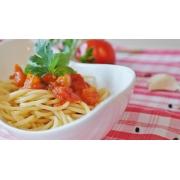 Espaguete: Espaguete ( Serve 2 pessoas) - Massas (Ingredientes: molho ao sugo)