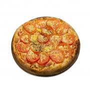 Salgadas: Bauru - Pizza Broto (Ingredientes: Mussarela, Presunto, Tomate)