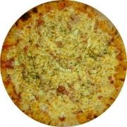 Salgadas: Espanhola - Pizza Broto (Ingredientes: Calabresa, Mussarela, Ovo, Presunto)
