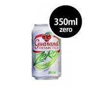 Refrigerante: Guaraná Antarctica Zero Lata 350ml - Refrigerante Guaraná