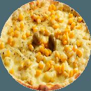 Tradicionais: Frango Com Milho - Pizza Família (Ingredientes: Frango, Milho Verde, Molho, Orégano, Tomate)