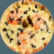 Tradicionais: Marguerita - Pizza Família (Ingredientes: Manjericão, Molho, Mussarela, Orégano, Tomate)