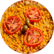Promoção: Milho Verde - Pizza Família (Ingredientes: Milho Verde, Molho, Mussarela, Orégano, Tomate)