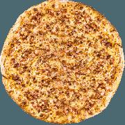 CLÁSSICAS DA CHEF´S: Bacon - Pizza Grande (Ingredientes: Bacon, Molho, Muçarela, Orégano)