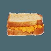 Lanches: Queijo Quente - Hambúrguer (Ingredientes: Três fatias de queijo no pão de forma)