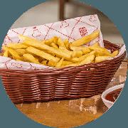 Porções: Batata Frita 600g - Porção Média (Ingredientes: Batata Frita)