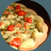 Especiais: Hassin - Pizza Média (Ingredientes: Atum, Borda à Francesa de Requeijão, Cebola, Limão, Molho de Tomate Cuko