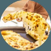 Porções: Cheese Bread - Porção Pequena (Ingredientes: Mussarela)