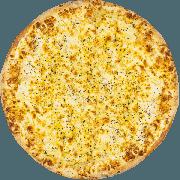 CLÁSSICAS DA CHEF´S: Alho e Óleo - Pizza Grande (Ingredientes: Alho e Oléo, Molho, Muçarela, Orégano)