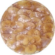 Doces: Banana - Pizza Broto (Ingredientes: Açúcar com Canela, Banana Laminada)