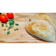 Mini Calzones: Frango, Bacon e Catupiry - Esfihas e Mini Calzones (Ingredientes: Bacon, Catupiry, Frango)