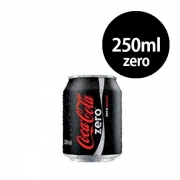 Refrigerante: Coca-Cola Zero Lata 250ml - Refrigerante Cola