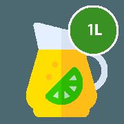 Suco: Suco de Morango 1L - Sabor Morango