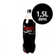 Refrigerante: Coca-Cola Zero 1,5L - Refrigerante Cola