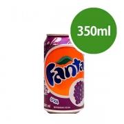 Refrigerante: Fanta Uva Lata 350 - Refrigerante Uva