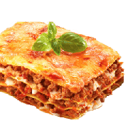 Lasanha: Lasanha Bolonhesa - Média (Ingredientes: Bolonhesa)