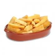 Porções: PORÇÃO Mandioca - Pequena (Ingredientes: Mandioca)