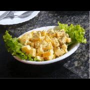 Porções: Provolone - Pequena (Ingredientes: Queijo provolone)