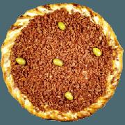 Tradicionais: Bacon - Pizza Gigante (Ingredientes: Azeitona, Bacon, Molho de Tomate, Mussarela, Orégano)