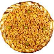 Especiais 2: Camarão - Pizza Gigante (Ingredientes: Azeitona, Camarão, Molho de Tomate, Mussarela, Orégano, Parmesão)
