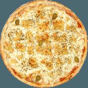 Salgadas: Frango com Catupiry - Pizza Broto (Ingredientes: Catupiry, Frango)