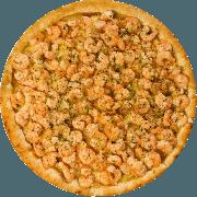 Salgadas: Camarão II - Pizza Broto (Ingredientes: Camarão, Mussarela)