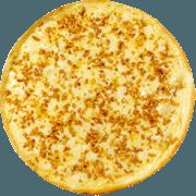 Salgadas: Alho - Pizza Broto (Ingredientes: Alho, Mussarela, Parmesão)