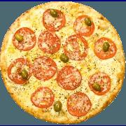 Salgadas: Napolitana - Pizza Broto (Ingredientes: Mussarela, Parmesão, Tomate)