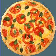 Salgadas: Marguerita - Pizza Broto (Ingredientes: Manjericão, Mussarela, Parmesão, Tomate)