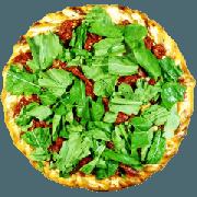 Tradicionais: Tomate Seco - Pizza Gigante (Ingredientes: Azeitona, Molho de Tomate, Mussarela, Orégano, Rúcula, Tomate Seco)